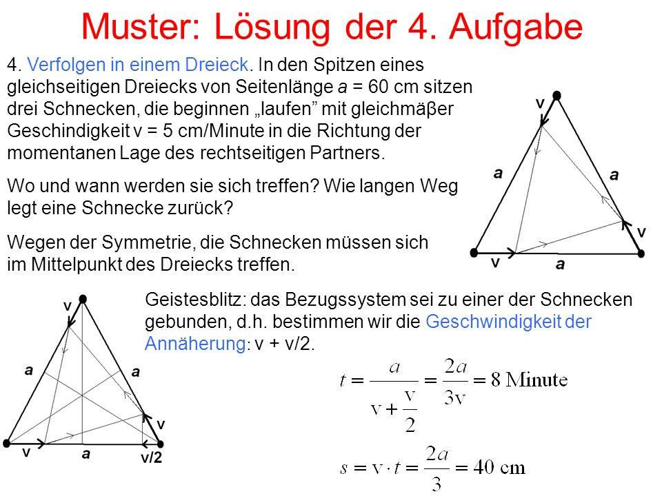 Muster: Lösung der 4. Aufgabe