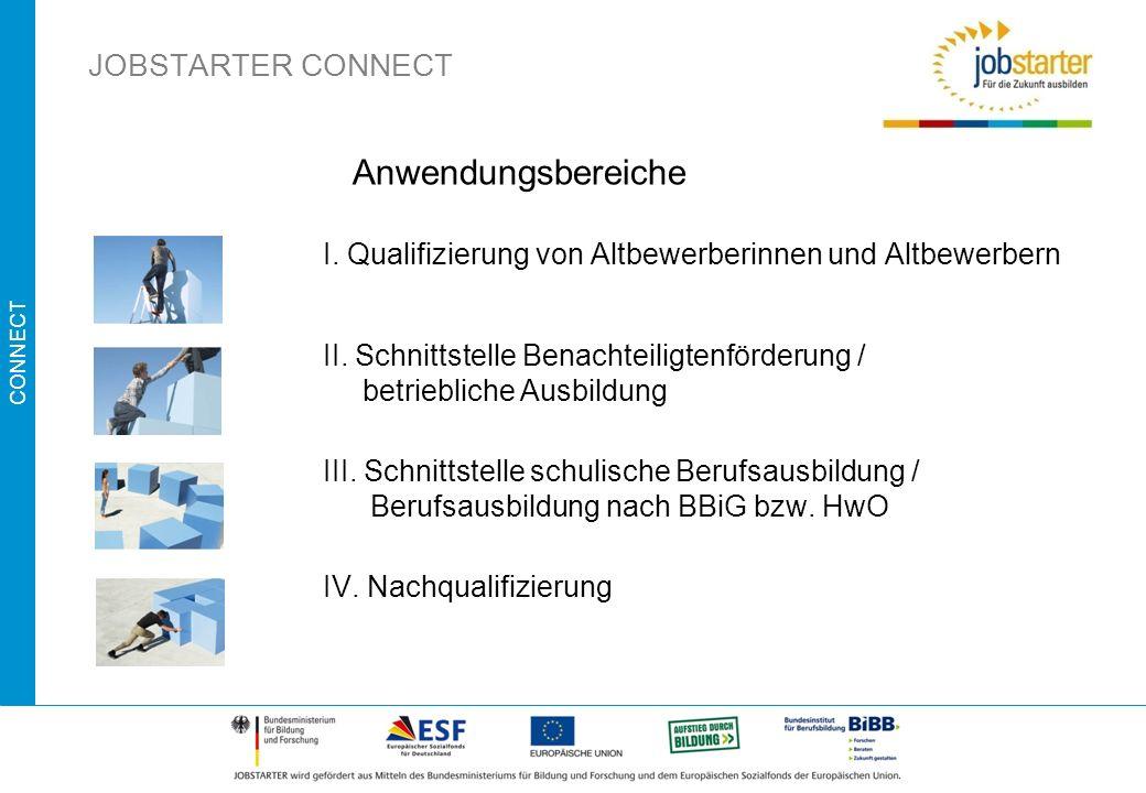 Anwendungsbereiche JOBSTARTER CONNECT