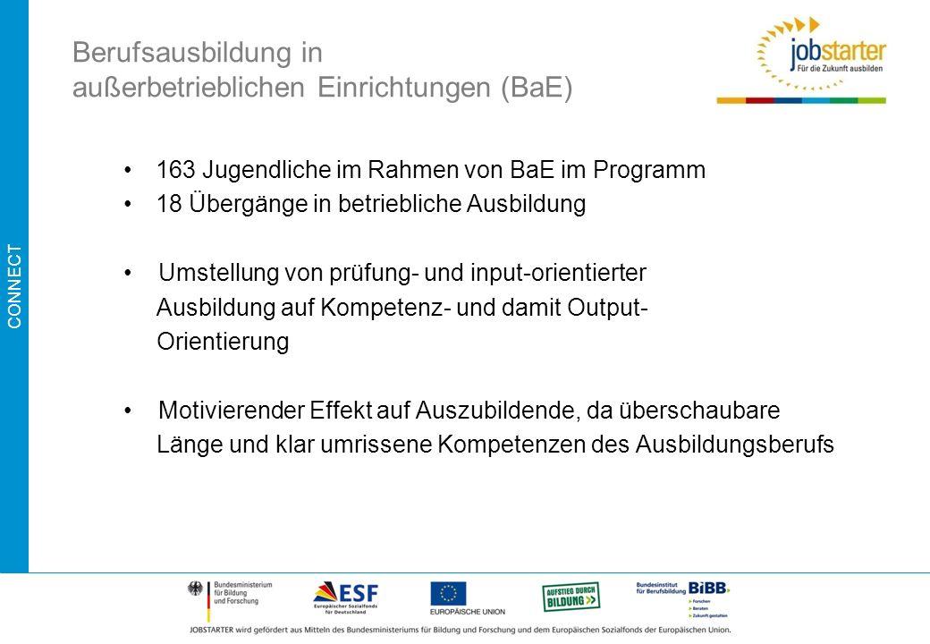 Berufsausbildung in außerbetrieblichen Einrichtungen (BaE)