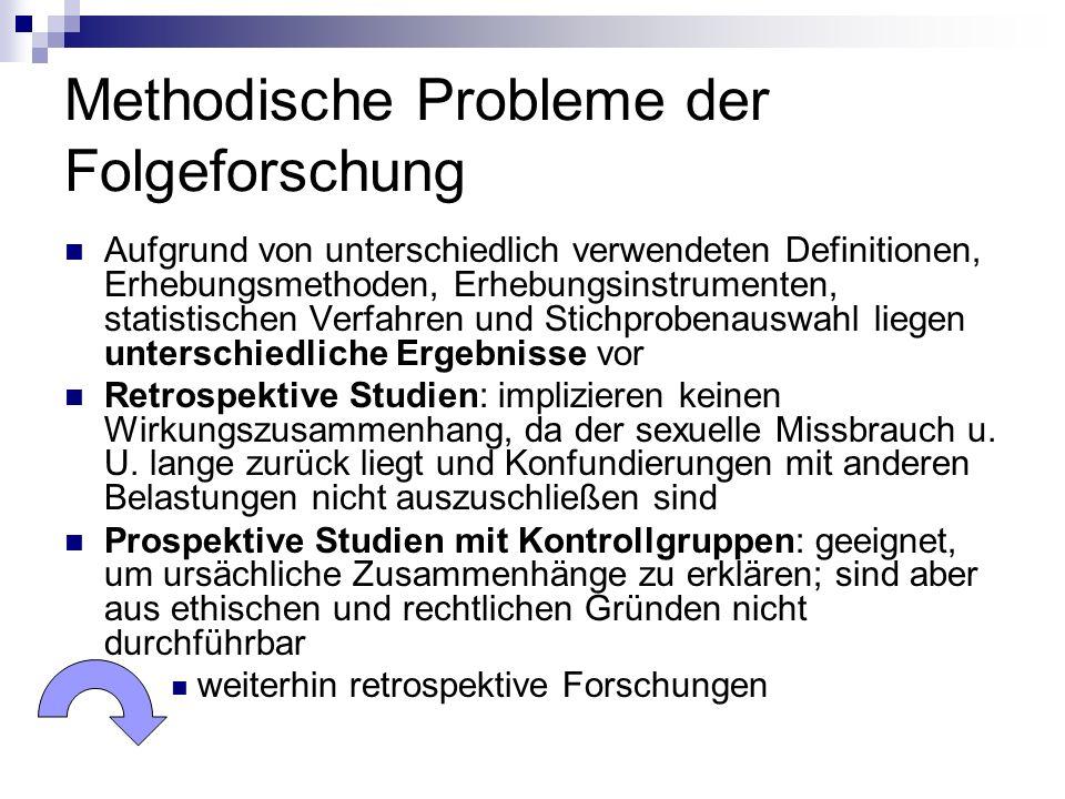 Methodische Probleme der Folgeforschung
