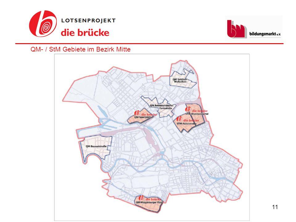 QM- / StM Gebiete im Bezirk Mitte