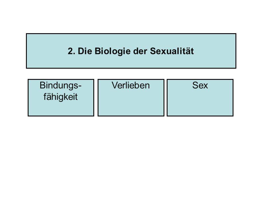 2. Die Biologie der Sexualität