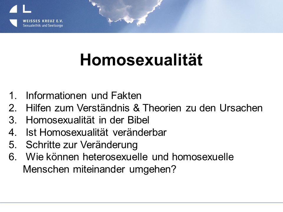 Homosexualität Informationen und Fakten