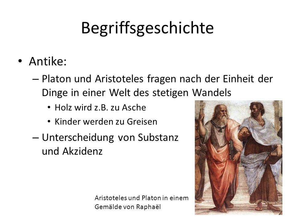 Begriffsgeschichte Antike: