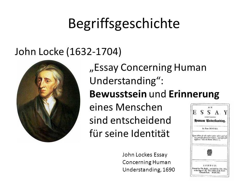 Begriffsgeschichte John Locke (1632-1704)