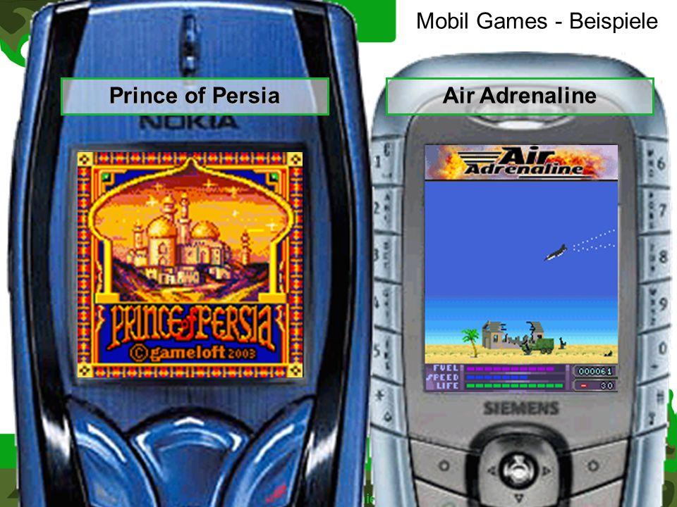 Mobil Games - Beispiele