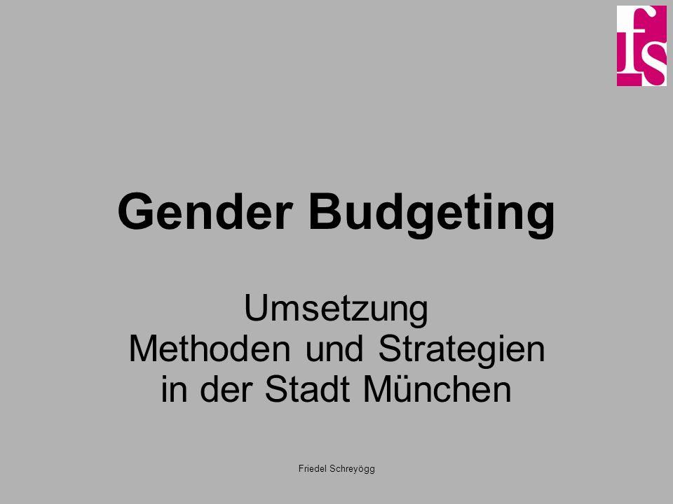 Umsetzung Methoden und Strategien in der Stadt München