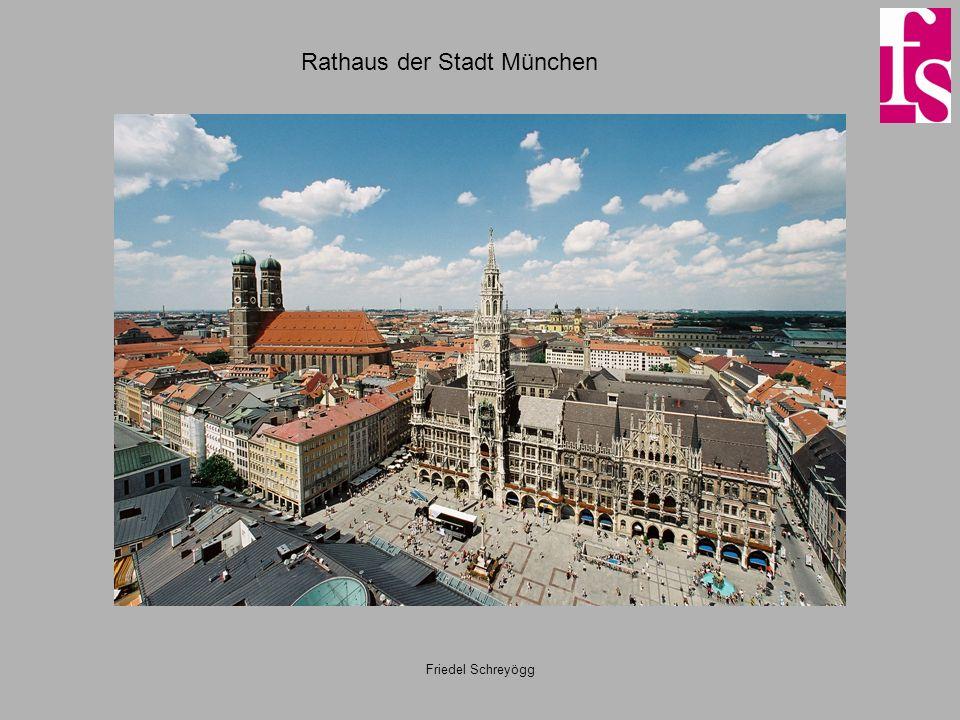 Rathaus der Stadt München