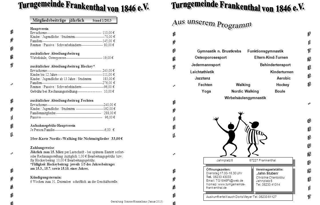 Turngemeinde Frankenthal von 1846 e.V.