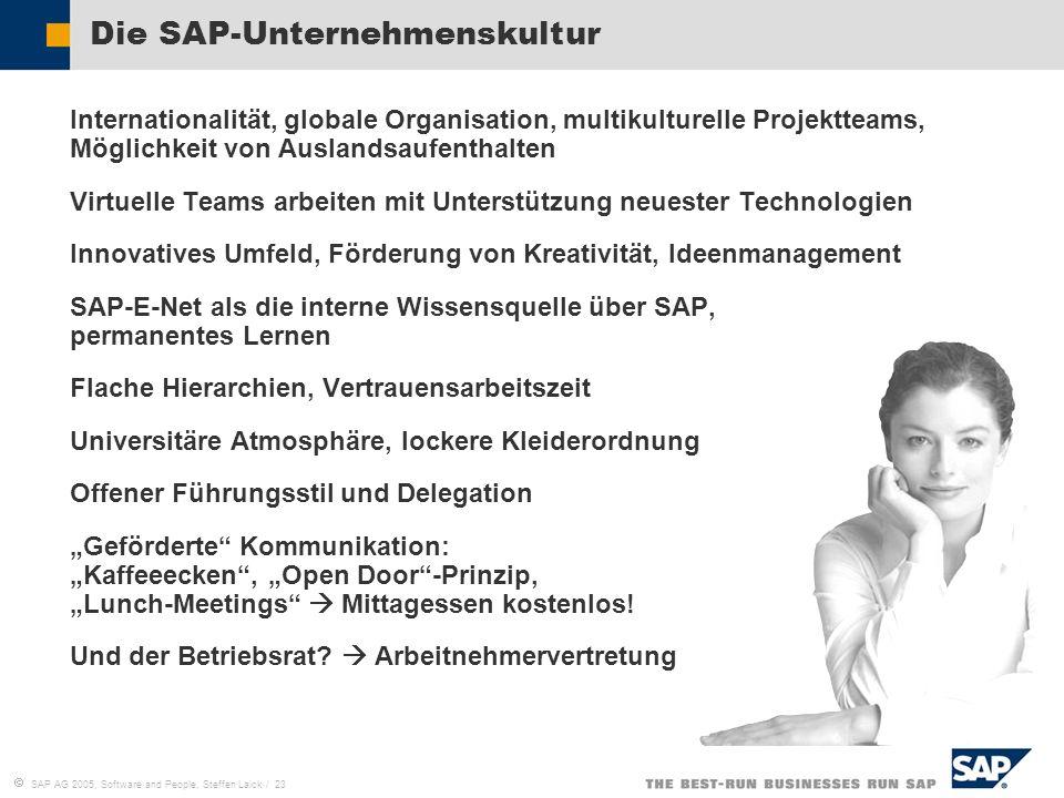 Die SAP-Unternehmenskultur