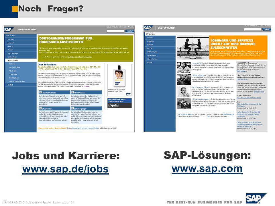 Jobs und Karriere: www.sap.de/jobs SAP-Lösungen: www.sap.com