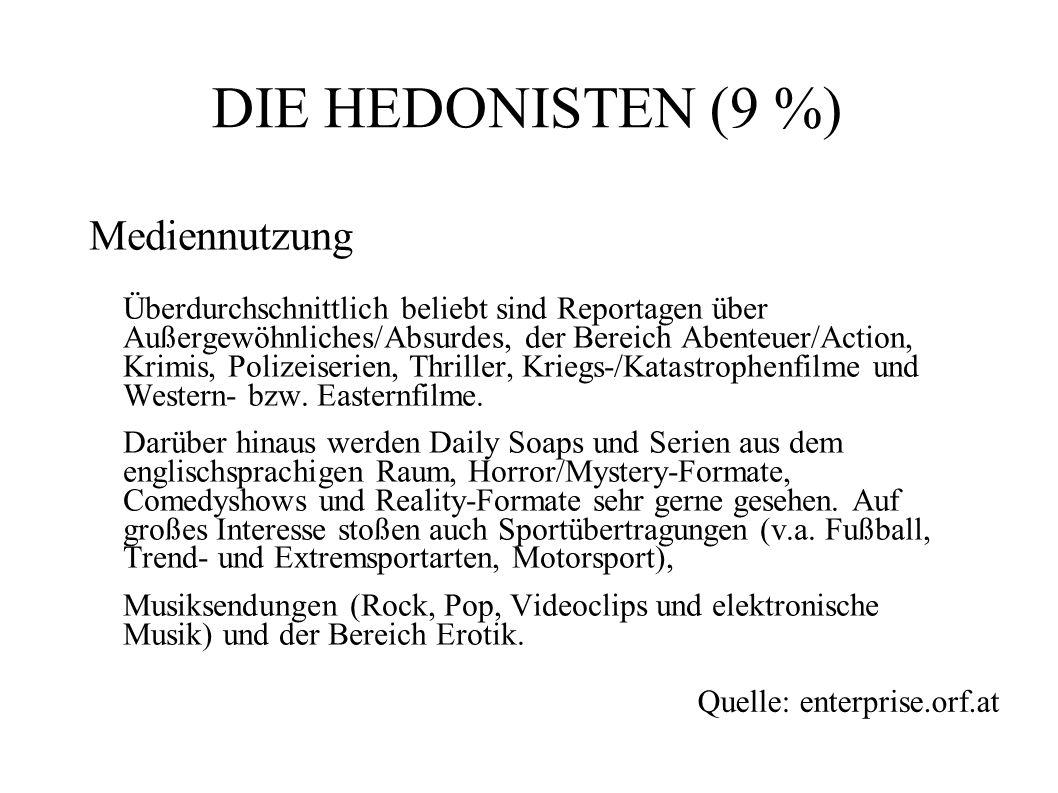 DIE HEDONISTEN (9 %)
