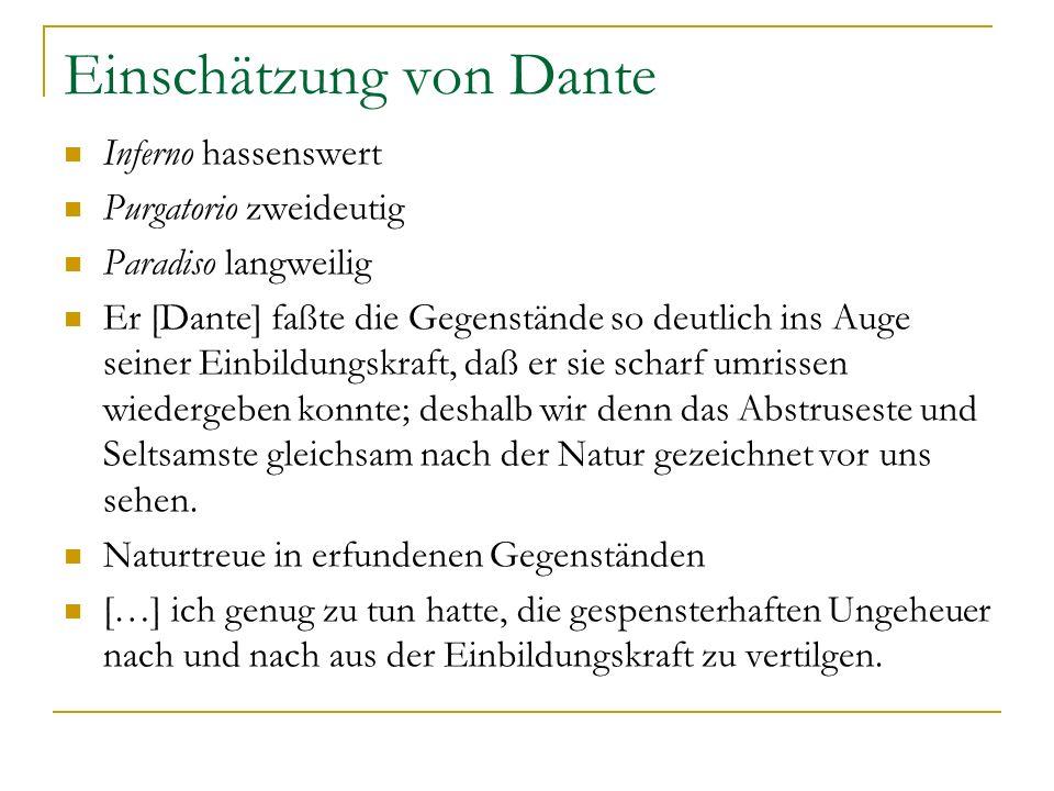 Einschätzung von Dante