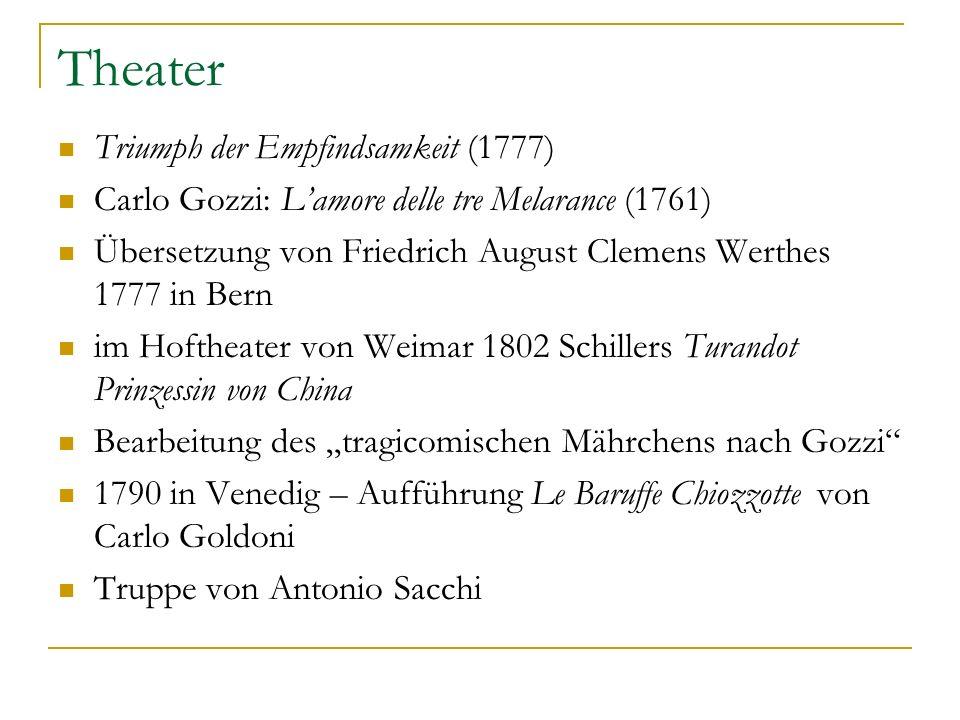 Theater Triumph der Empfindsamkeit (1777)