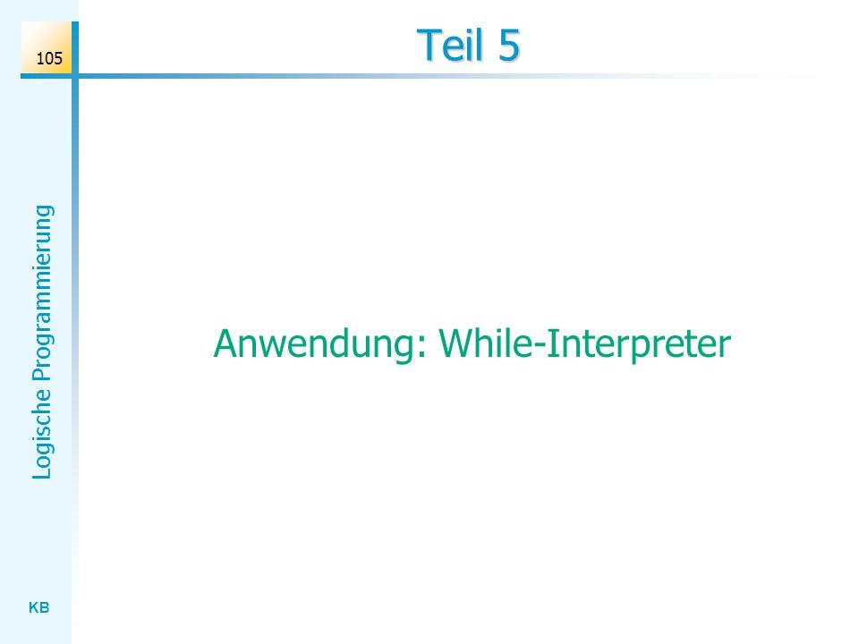 Anwendung: While-Interpreter
