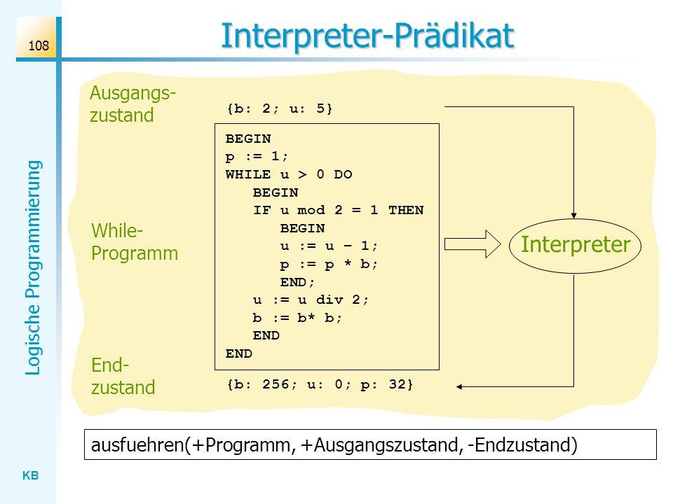 Interpreter-Prädikat