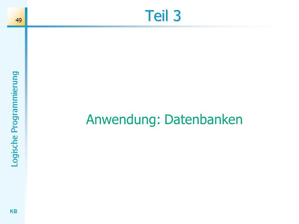 Anwendung: Datenbanken