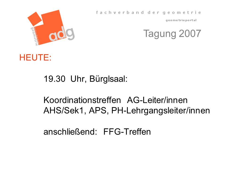 Tagung 2007