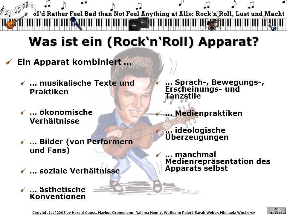 Was ist ein (Rock'n'Roll) Apparat