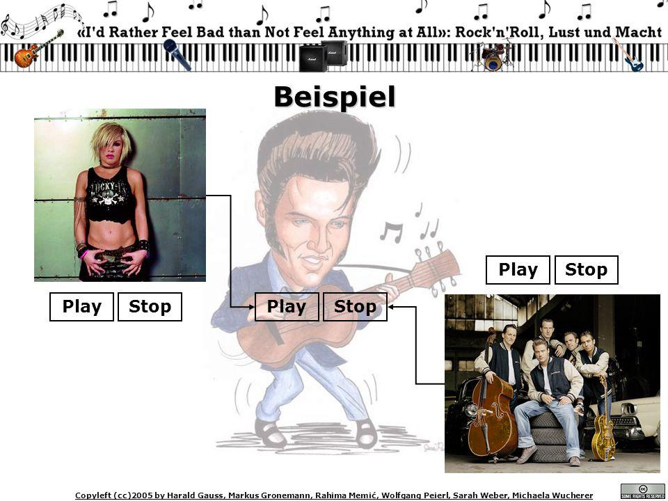Beispiel Play Stop Play Stop Play Stop Markus