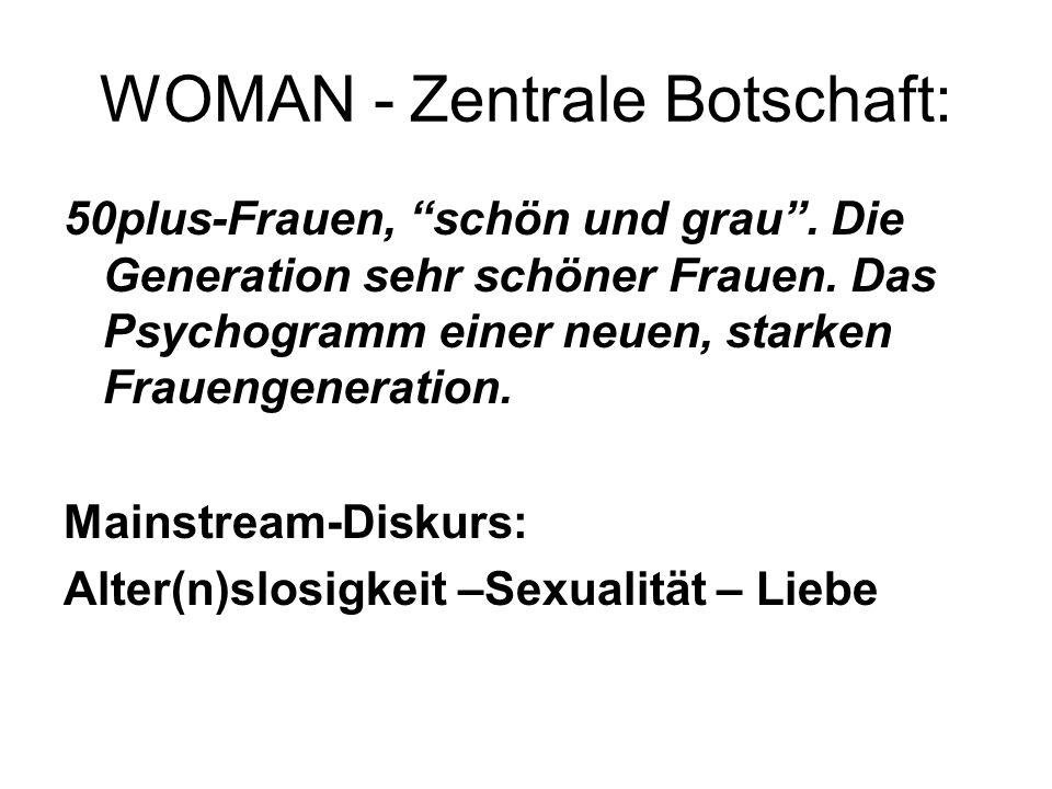 WOMAN - Zentrale Botschaft: