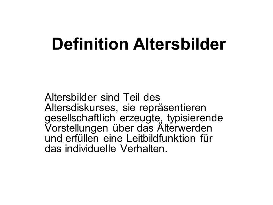 Definition Altersbilder