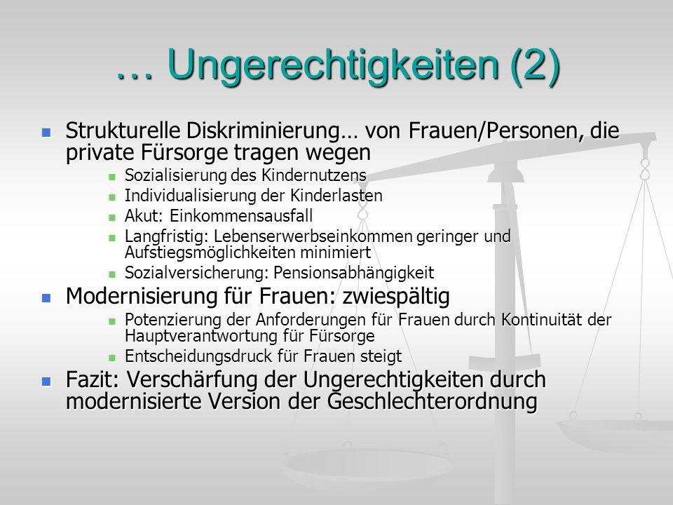 … Ungerechtigkeiten (2)
