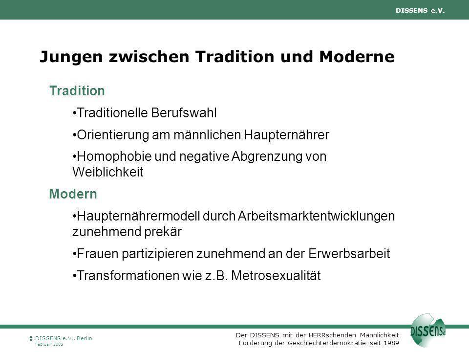 Jungen zwischen Tradition und Moderne