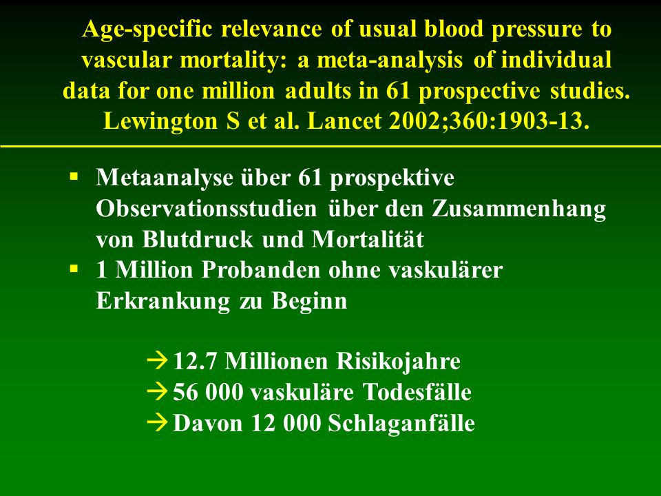 Lewington S et al. Lancet 2002;360:1903-13.