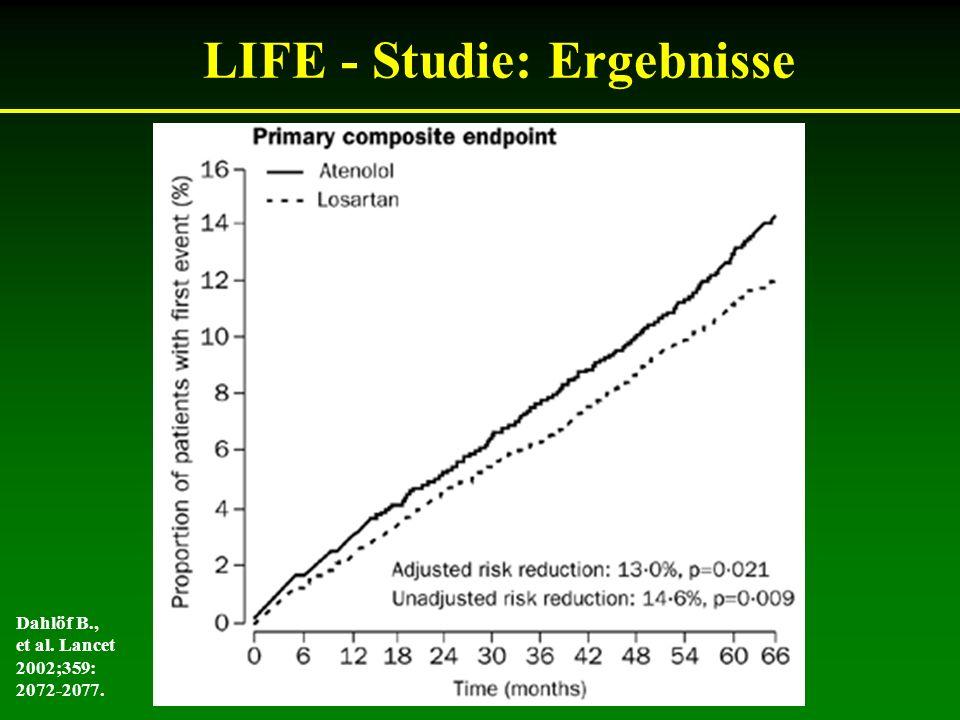 LIFE - Studie: Ergebnisse