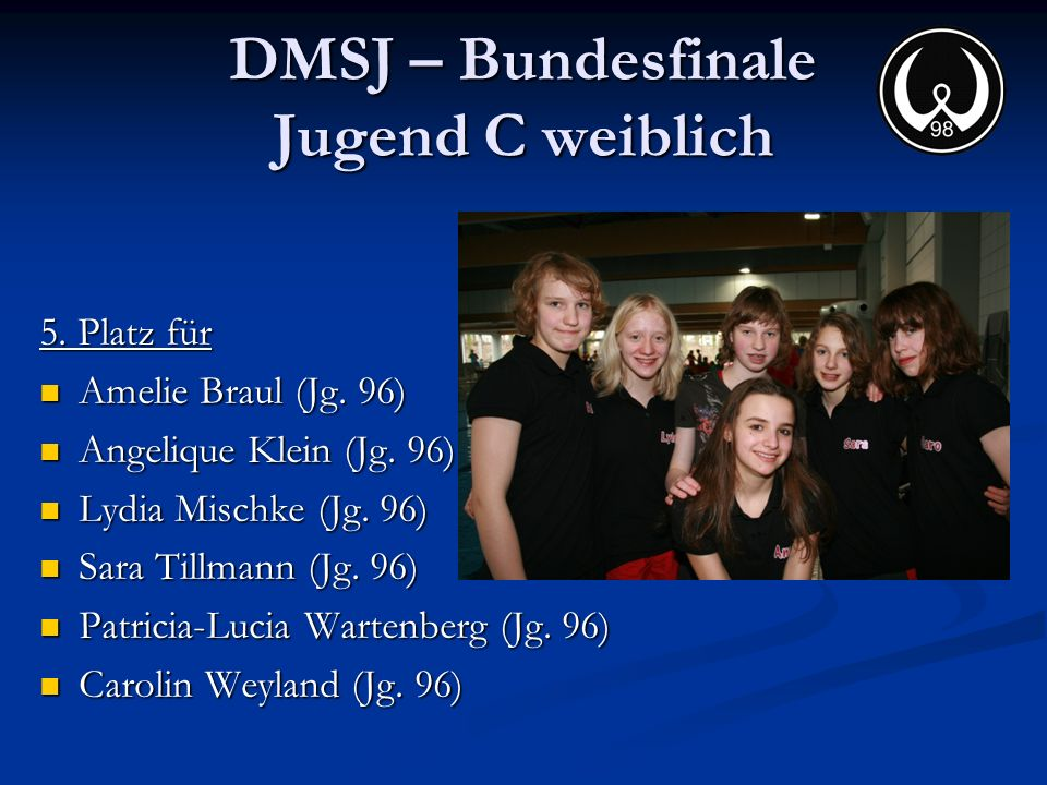 DMSJ – Bundesfinale Jugend C weiblich