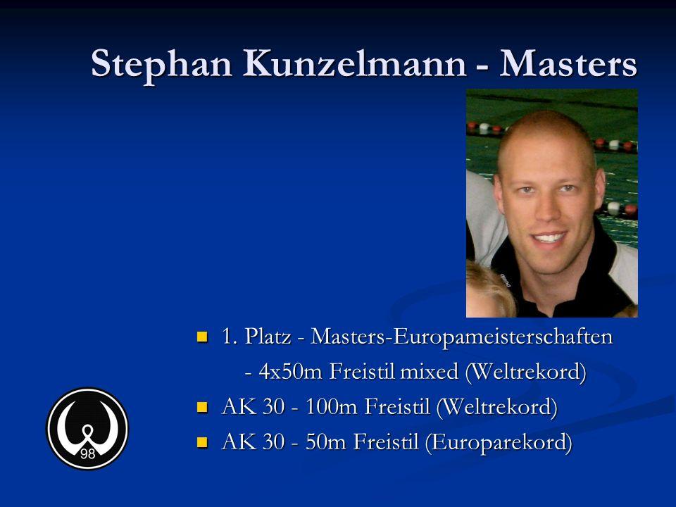 Stephan Kunzelmann - Masters