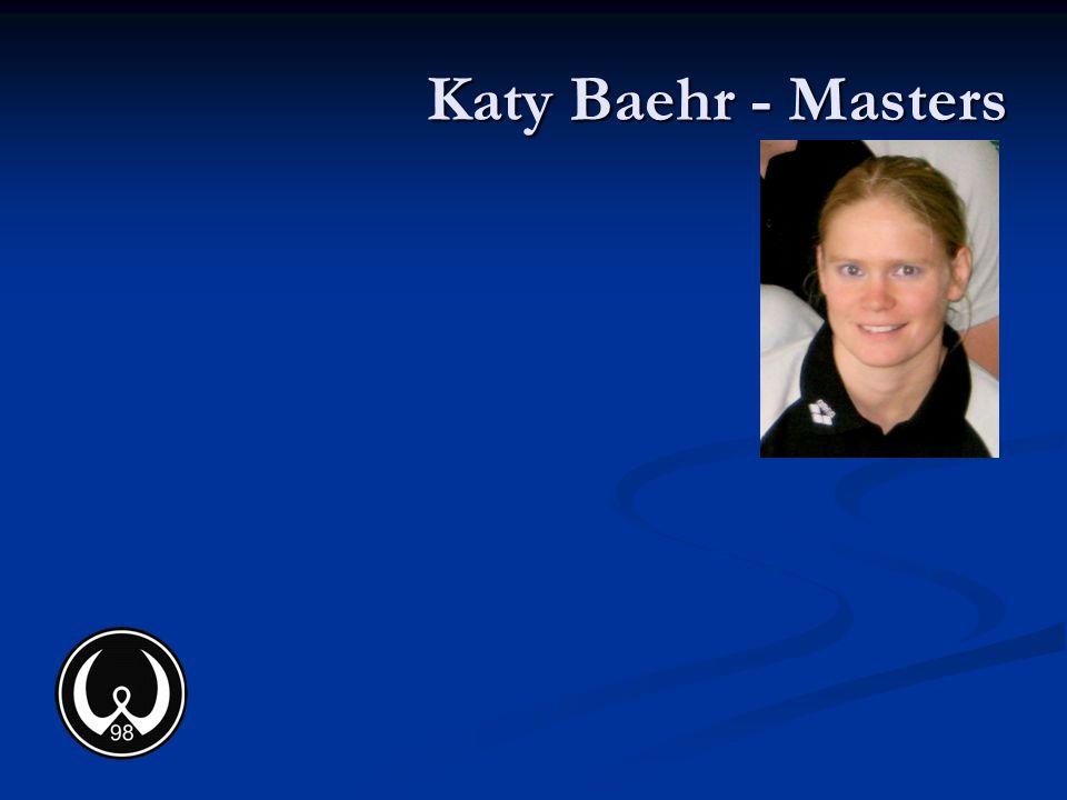 Katy Baehr - Masters