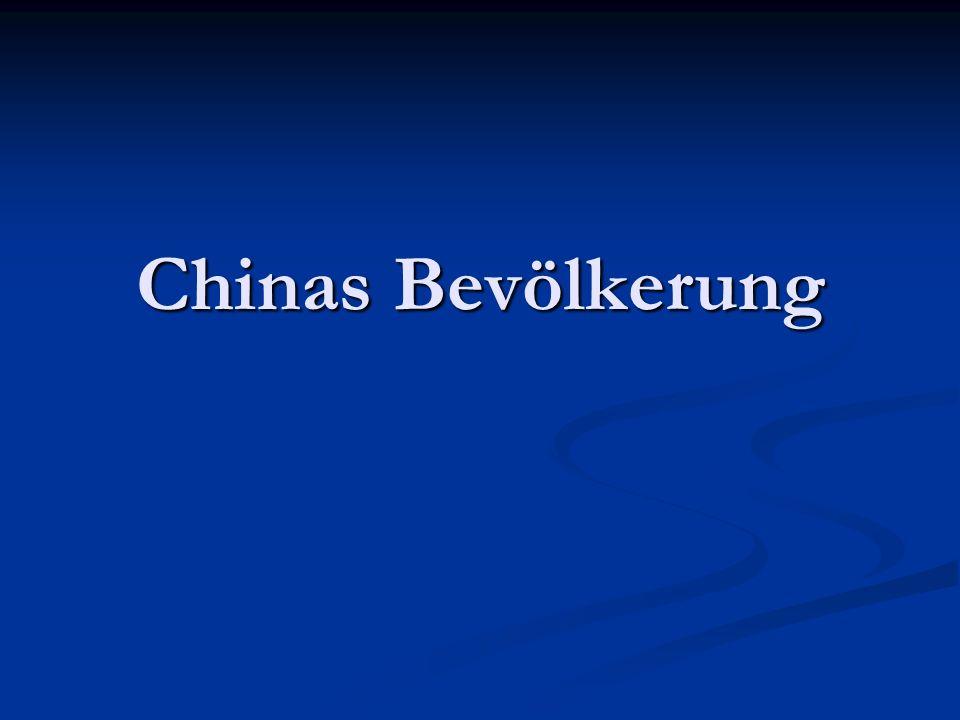 Chinas Bevölkerung