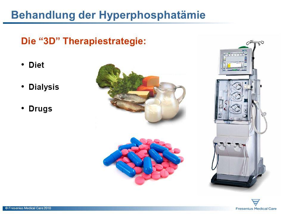 Behandlung der Hyperphosphatämie