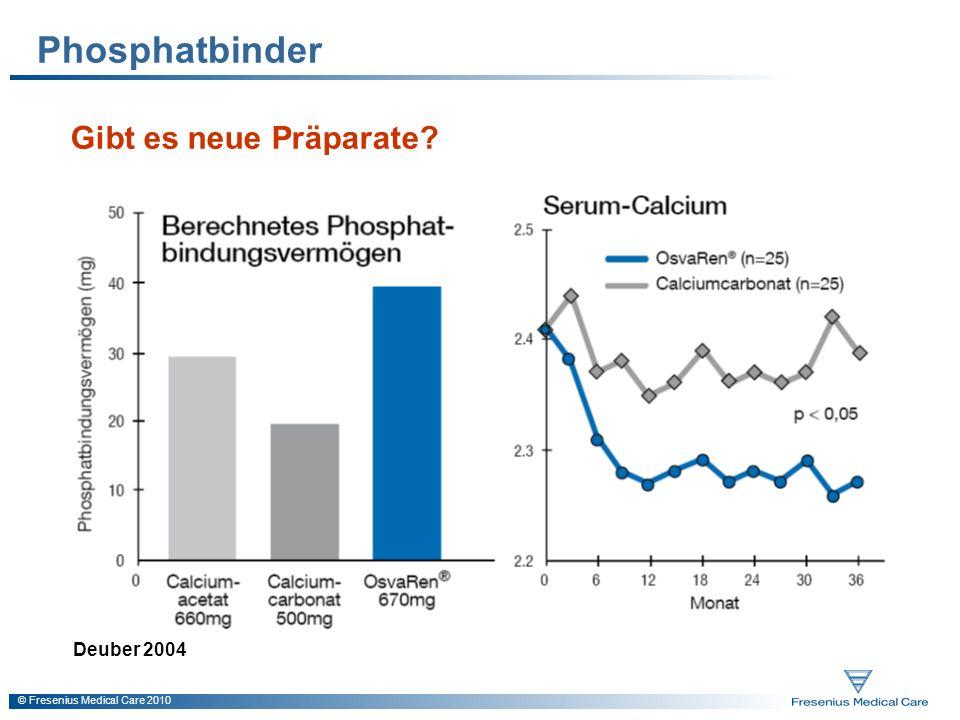 Phosphatbinder Gibt es neue Präparate Deuber 2004
