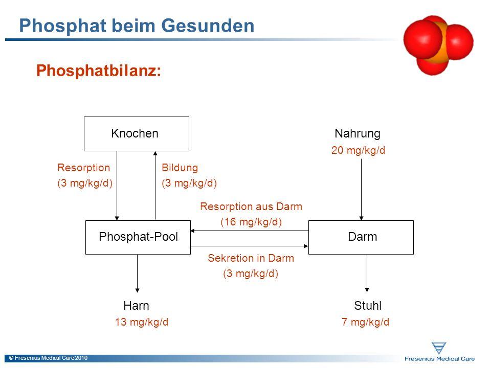 Phosphat beim Gesunden