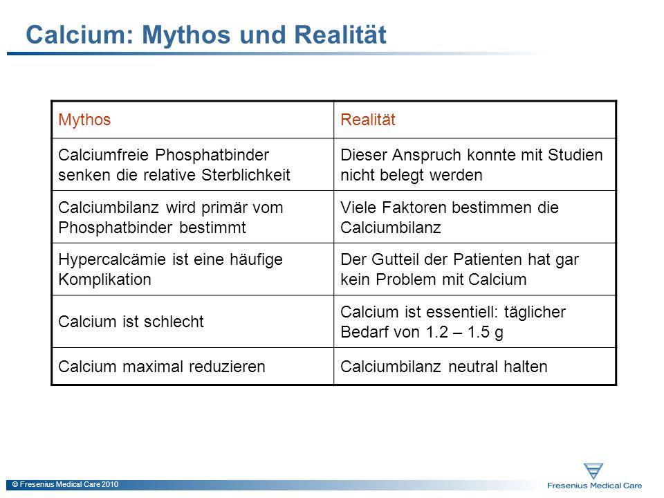 Calcium: Mythos und Realität