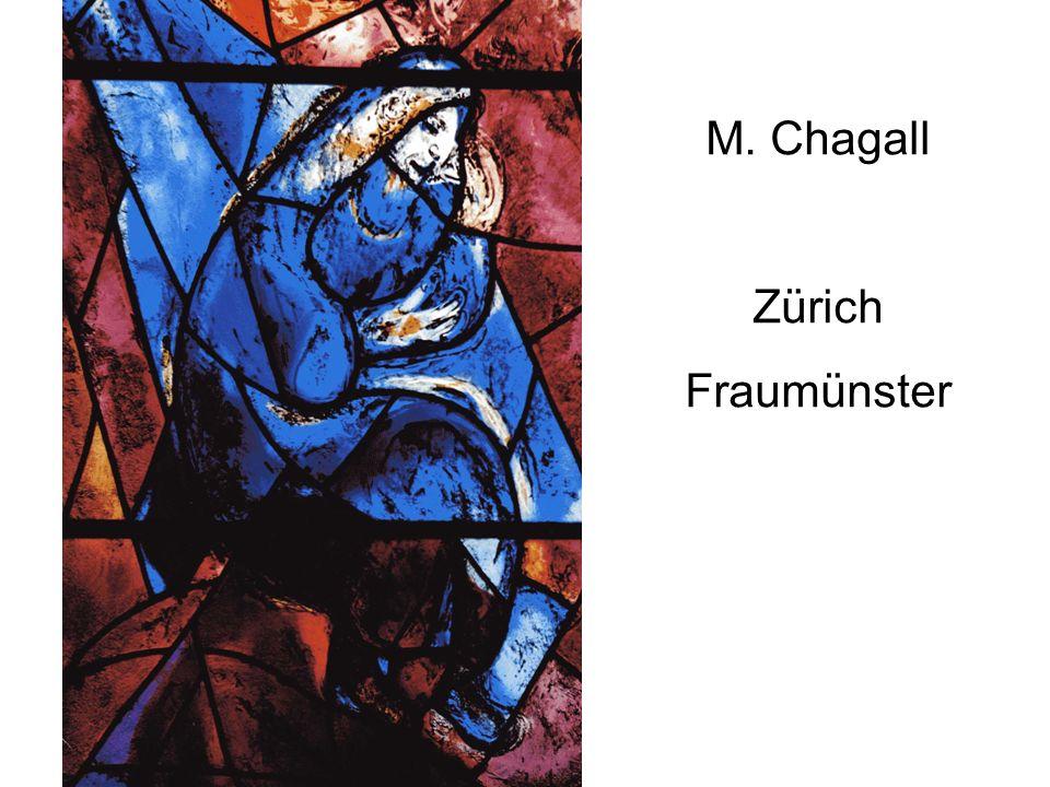 M. Chagall Zürich Fraumünster