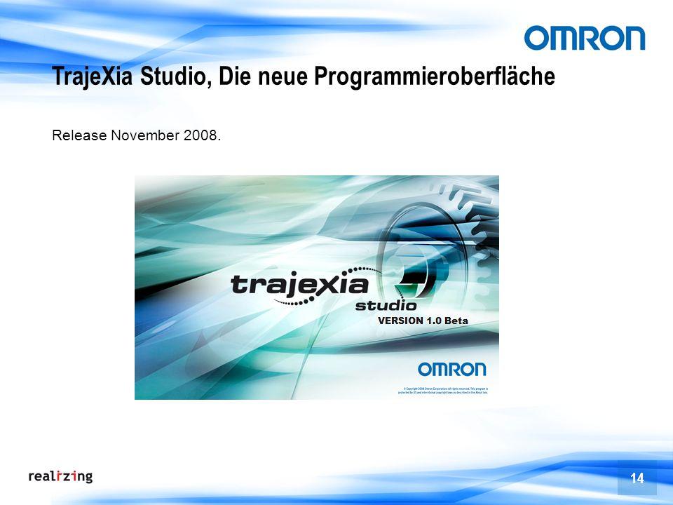 TrajeXia Studio, Die neue Programmieroberfläche