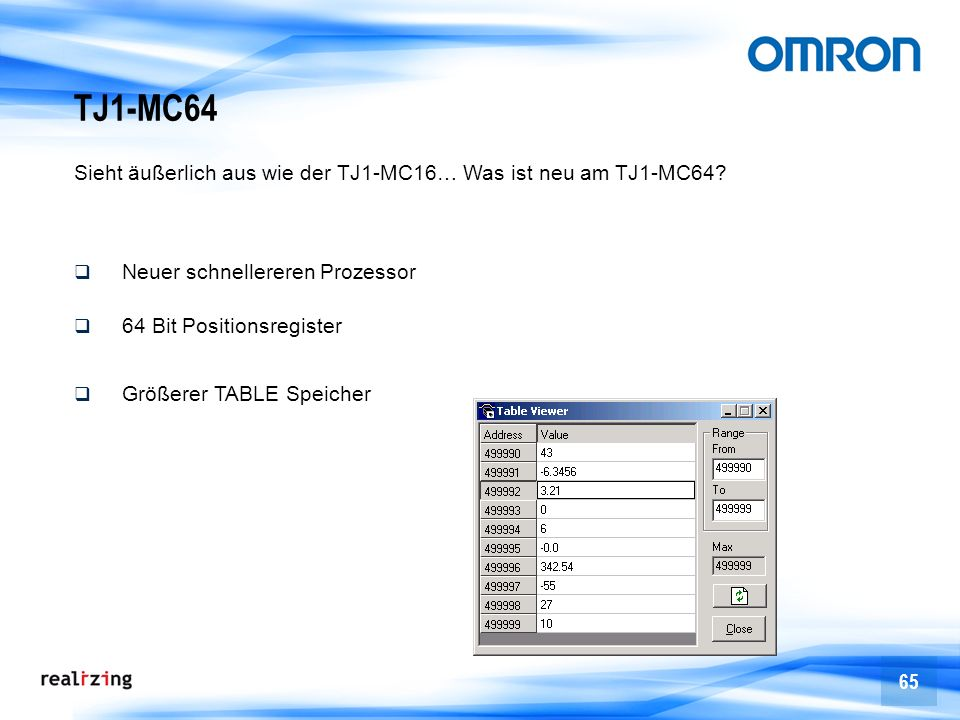 TJ1-MC64 Sieht äußerlich aus wie der TJ1-MC16… Was ist neu am TJ1-MC64 Neuer schnellereren Prozessor.