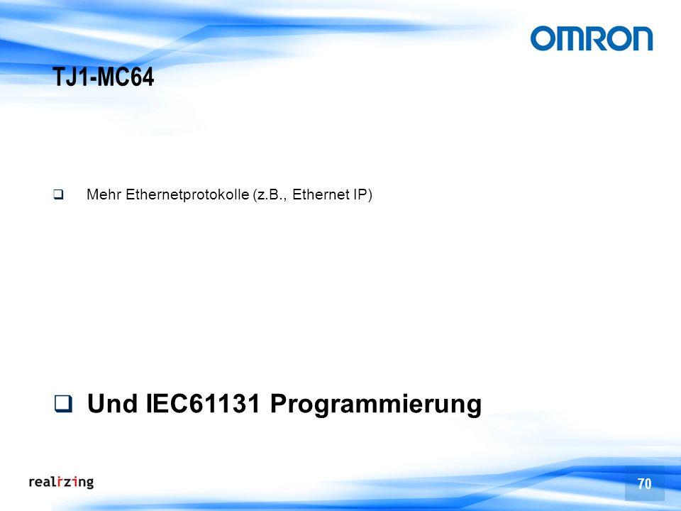 Und IEC61131 Programmierung