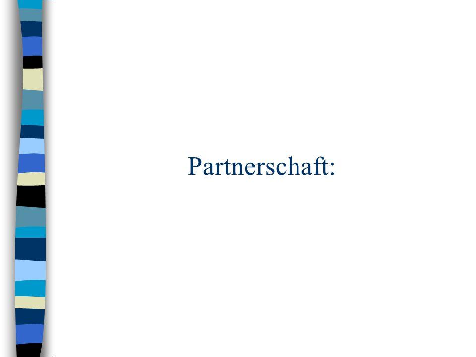 Partnerschaft: