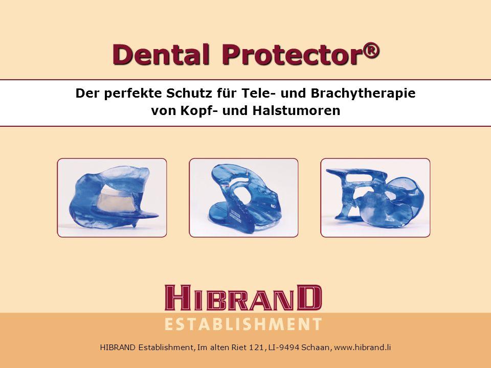 Dental Protector® Der perfekte Schutz für Tele- und Brachytherapie von Kopf- und Halstumoren.
