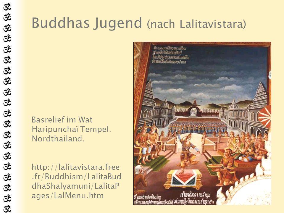 Buddhas Jugend (nach Lalitavistara)