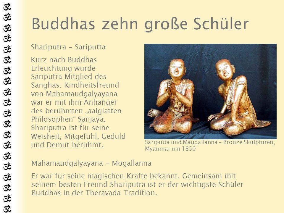 Buddhas zehn große Schüler
