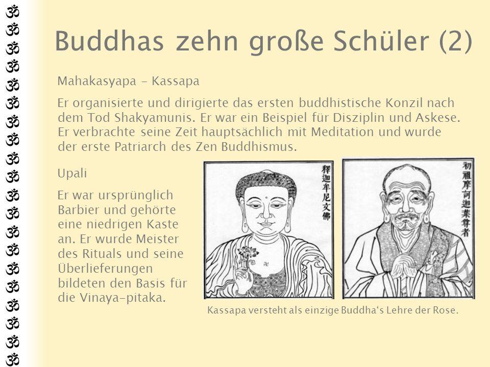 Buddhas zehn große Schüler (2)