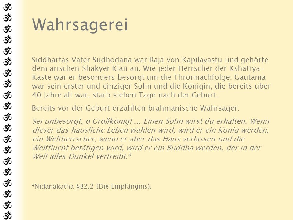 Wahrsagerei