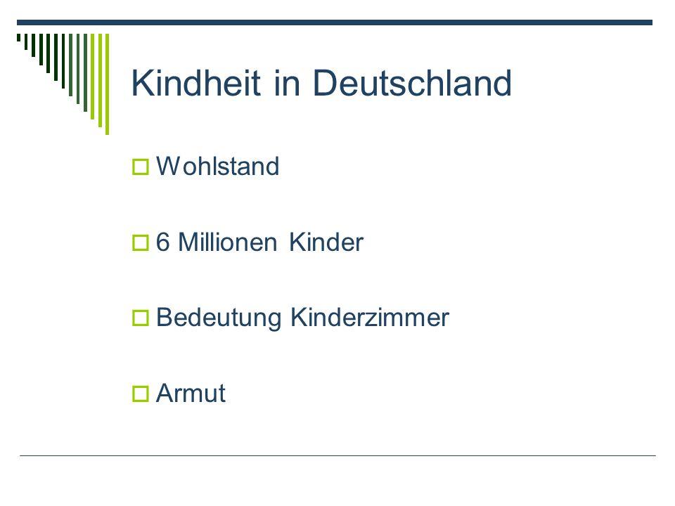 Kindheit in Deutschland