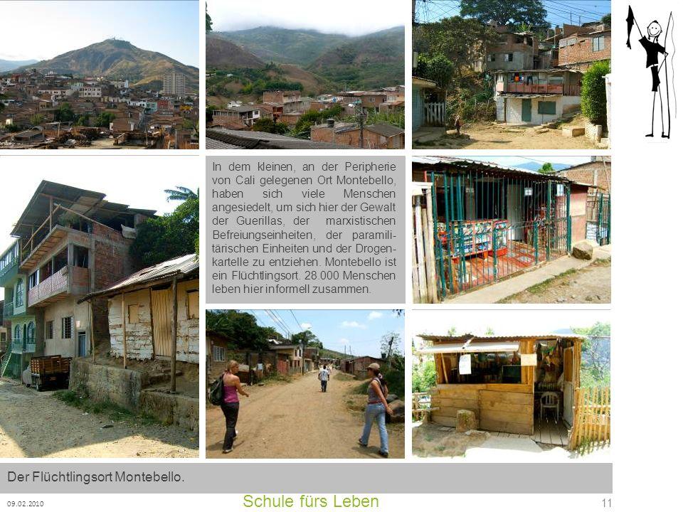 Schule fürs Leben Der Flüchtlingsort Montebello.